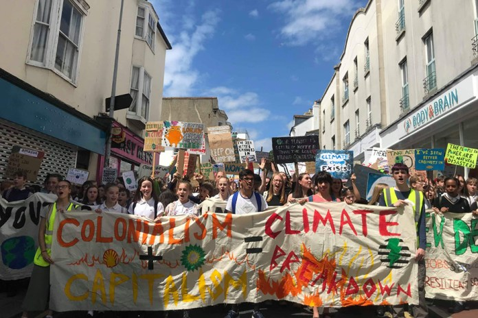 Colonialism + capitalism = climate crisis - Global Justice Now Global  Justice Now