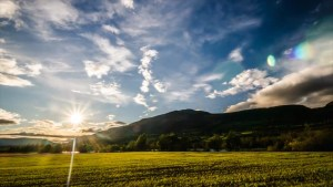 sunny mountain landscape - Measuring Progress