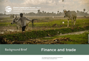 Background Brief – Finance and trade