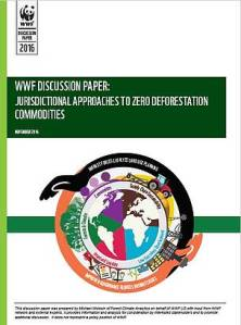 Jurisdictional approaches to zero deforestation commodities