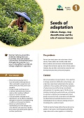 Seeds of adaptation: Climate change, crop diversification and the role of women farmers