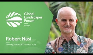 Robert Nasi at the Opening Plenary, GLF Nairobi 2018