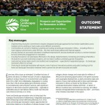 GLF Nairobi 2018 Outcome Statement: Prospects and Opportunities for Restoration in Africa