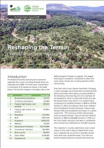 Reshaping the terrain: Landscape restoration in Uganda