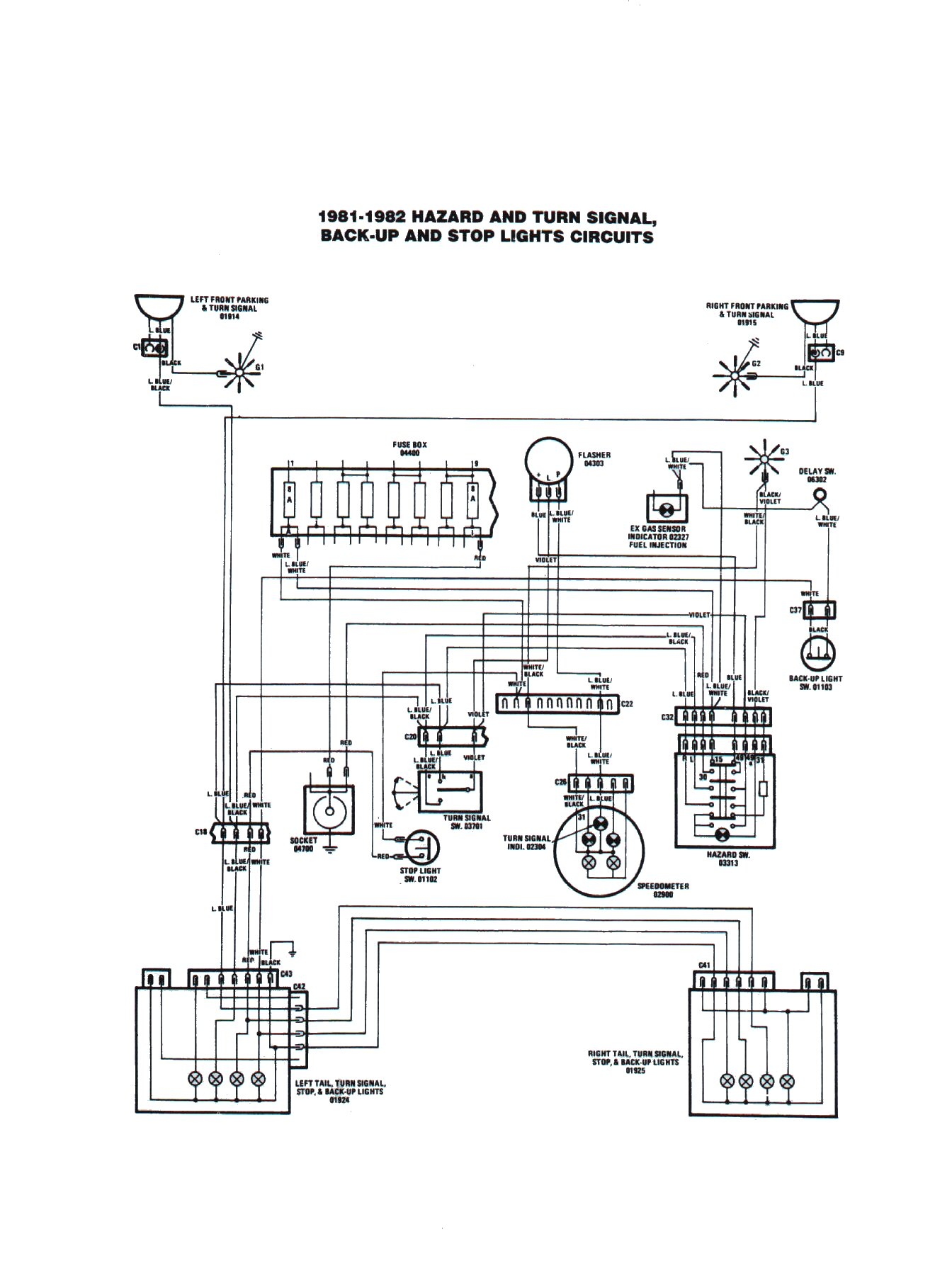 84 corvette wiring diagram speakers 84 corvette front