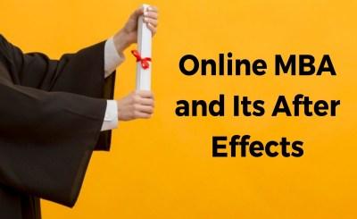 online MBA program
