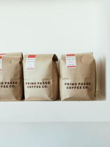 kraft coffe bags