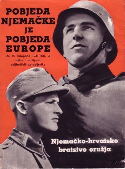 """12. Da ne bi bilo nikakve dvojbe o ratnim favoritima NDH i """"njemačko-hrvatskom bratstvu oružja"""" - Brothers in Arms"""