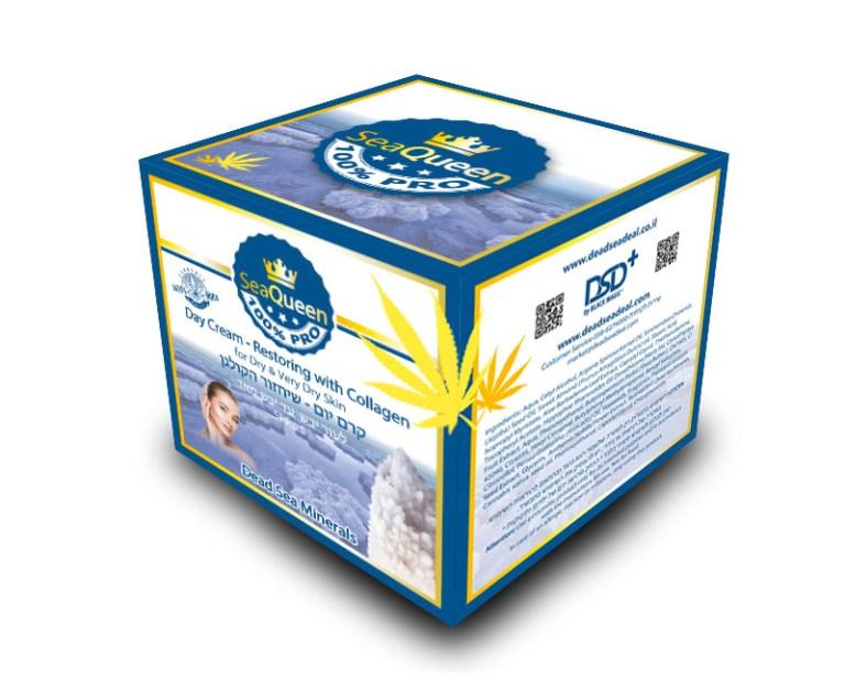SEA QUEEN day cream box