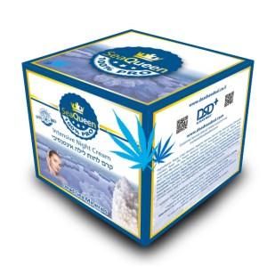SEA QUEEN intensive night cream box