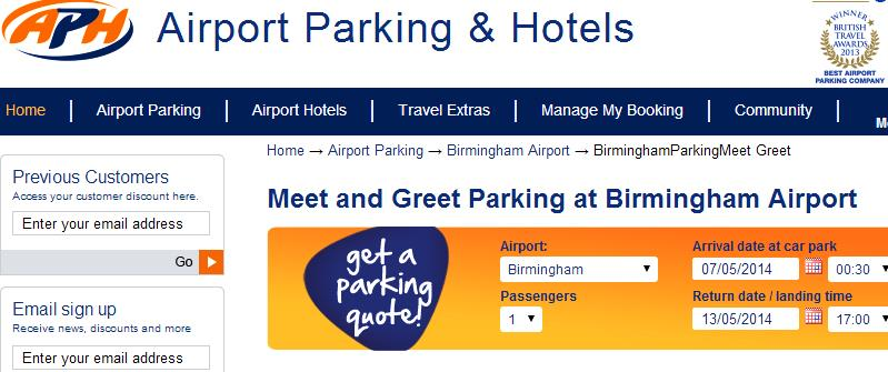 Birmingham airport aph meet greet parking globalmouse travels whenever we can we love to park using meet greet with 3 young children its so much easier than trekking across car parks with them and all the luggage m4hsunfo