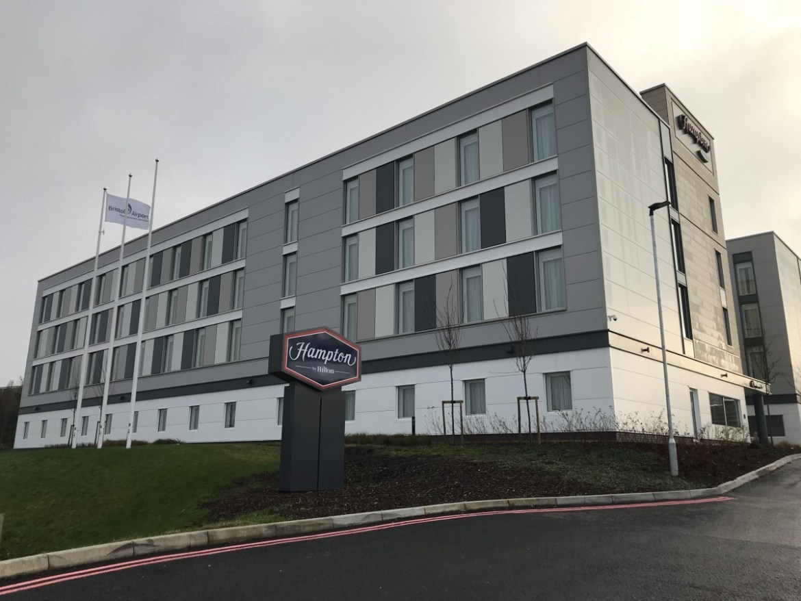 Staying On Site At Bristol Airport At The Hampton By Hilton