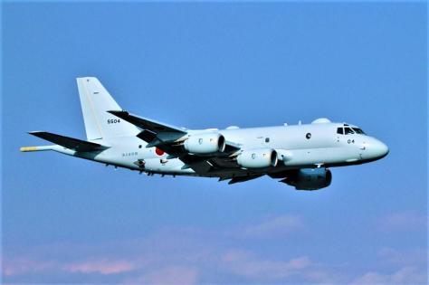 哨戒機「P-1」出典:海上自衛隊ホームページ