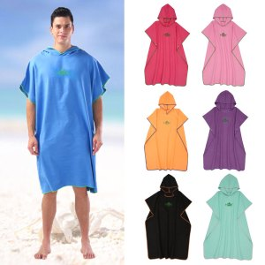 Beach Towel Poncho Swimming Towels Quick Dry