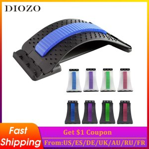 DIOZO Back Massage Muscle Stretcher Posture Corrector Stretch Relax Stretcher Lumbar Support Spine Pain Relief Chiropractic