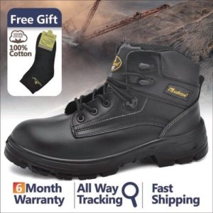 Safetoe Mens Work Safety Shoes Anti-Static
