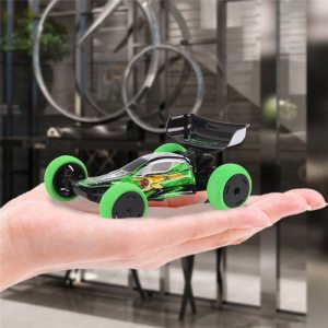 1/32 2.4G 6CH RC Car Mini Trick Car With LED Light Radio control Small Fashion RC Car Toys Kids Gifts With Transmitter
