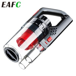 EAFC Auto Car Vacuum Wet Dry Portable Cleaning Tool Vaccum for Home /car Appliances Cordless Handheld for Home Cordless Vacuums