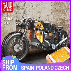 MOULD KING Motorized Car The Fast RC Motorcycle High-Tech car Model Building Blocks Assemble Bricks Kids Toys Christmas Gifts