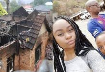 A South Africa Man Gladwn Mboweni sets house on fire killing himself and his two daughters