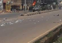 Angry Protesters Burn Two Police Stations In Ebonyi As Umahi Imposes 24-hour Curfew