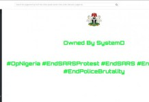 Anonymous Nigeria Hackers Takes Over Industrial Court's Website And Leak Edo State Contracts Details