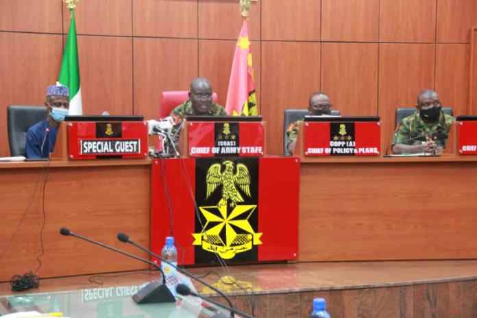 Army Chief Tukur Buratai Orders Military Commanders And Field Officers To Go After Looters