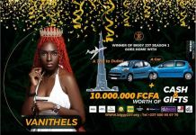 Big Brother Cameroon Winner Khalifa Vanithel And Her Prize