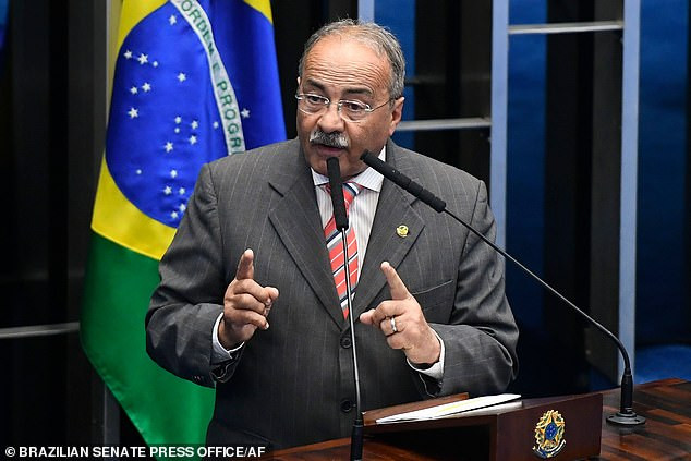 Brazilian senator Chico Rodrigues caught hiding cash meant to fight COVID-19 between his buttocks during police raid