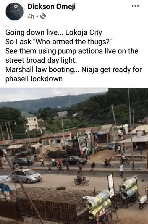 EndSARS Protesters In Lokoja And Journalist Attacked By Thugs Others Shot