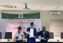 Endsars Youth Representatives Swears Lagos Judicial Panel Oath Of Secrecy