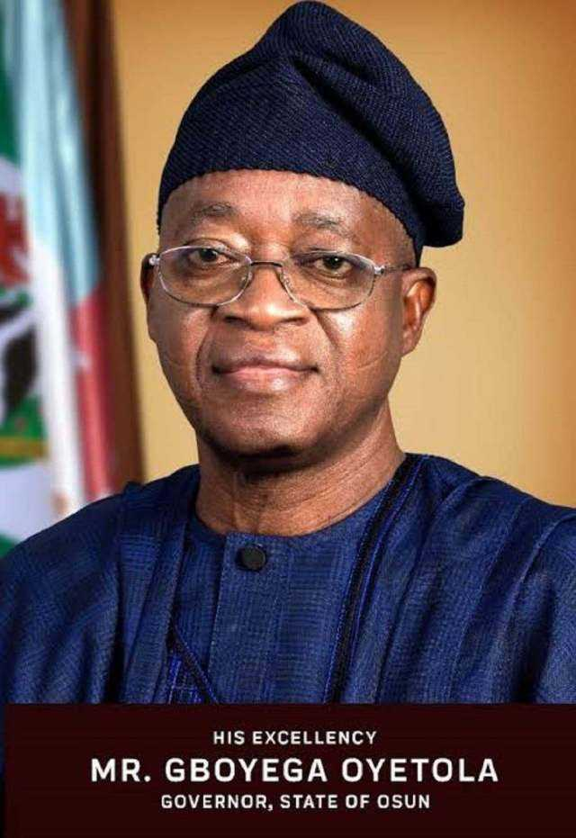 Gov. Gboyega Oyetola of Osun has approved the sum of N121 million as death benefits for retirees in the state