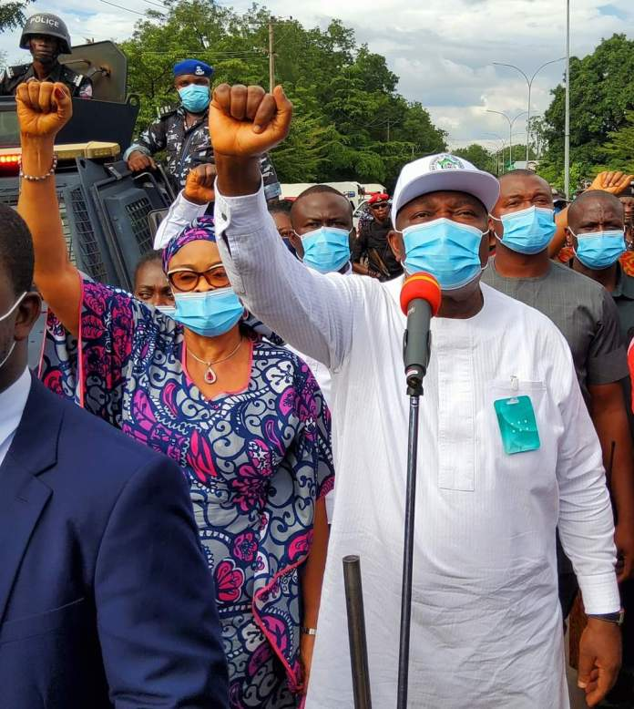 Governor Ugwuanyi of Enugu state sets up panel to investigate police brutality and extra judicial killings