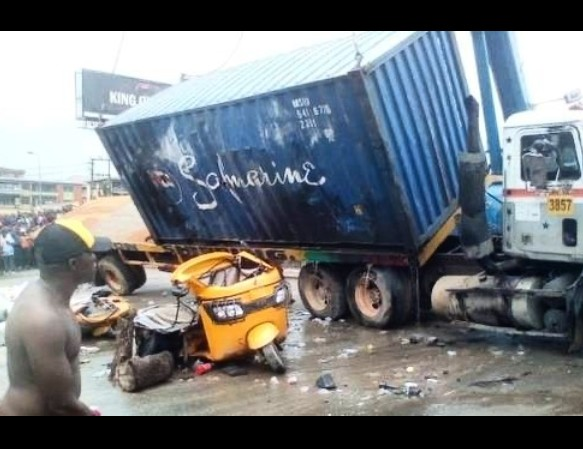 In Kaduna A Truck Crushes Newly Married Woman And Three Others To Death