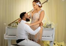 Juliet Ibrahim Teases Fans With Video And Pictures Of Wedding Photoshoot With TV Personality VJ Adams