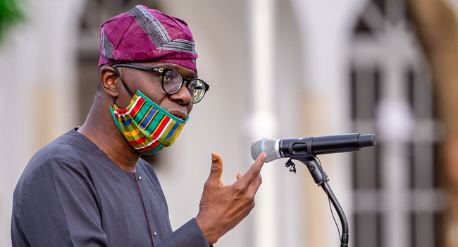 Lagos State Governor Babajide Sanwo-I Never Sent Thugs To Attack EndSARS Protesters