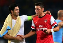 Mesut Ozil Left Out Of Arsenal's 25 Man Squad For The Europa League Group Stages