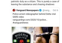 Minister Of State, Labour And Employment Festus Keyamo Calls For Release Of Videographer Behind Delta Viral SARS Video