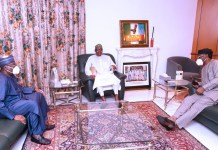 National Assembly leaders Meets With President Buhari Over EndSars Protest