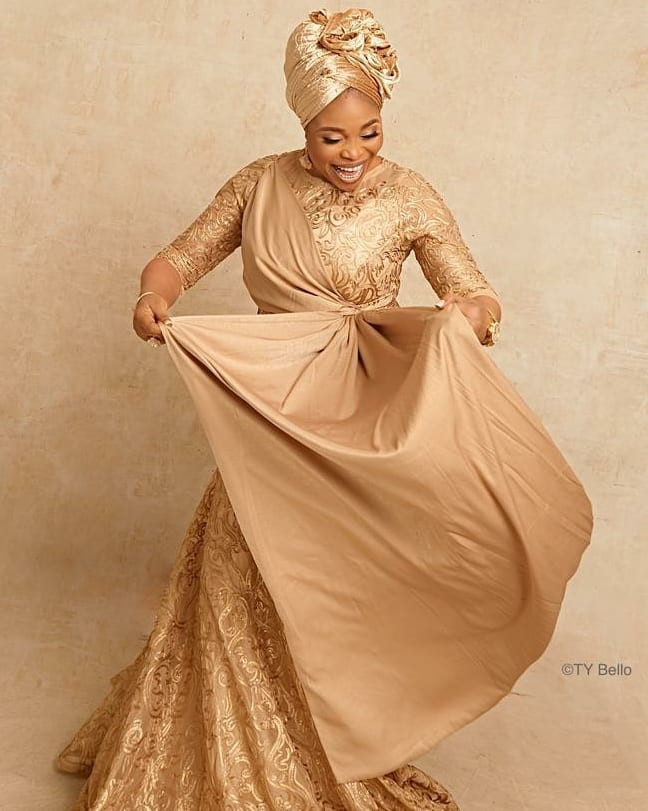 Nigerian gospel artiste, Tope Alabi, turns 50 today and celebrates with Stunning Pictures