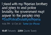 Popular American billionaire Rapper Kanye West Tweets About EndSARS And Wants Government Action