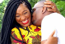 Popular Nigerian actress, Chacha Eke has revealed that she can never leave her husband