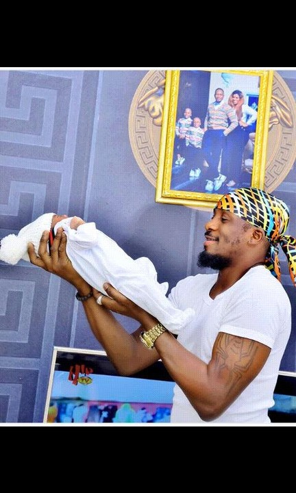 Popularly Nollywood Actor, Junior Pope Odonwodo Welcomes Third Child