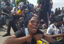 Protesters Demand Justice For Victims Of Police Brutality Despite End Of SARS