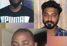 Two Indians and a Nigerian man sentenced to 10 years imprisonment for drug possession