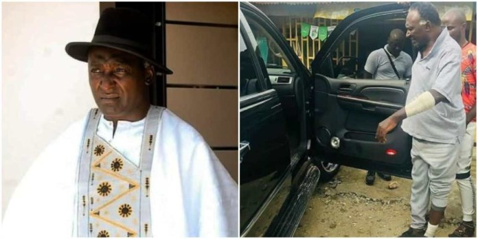 Veteran actor Clem Ohameze Says Robbers Took N650000 From Me All My Phones Destroyed My Car