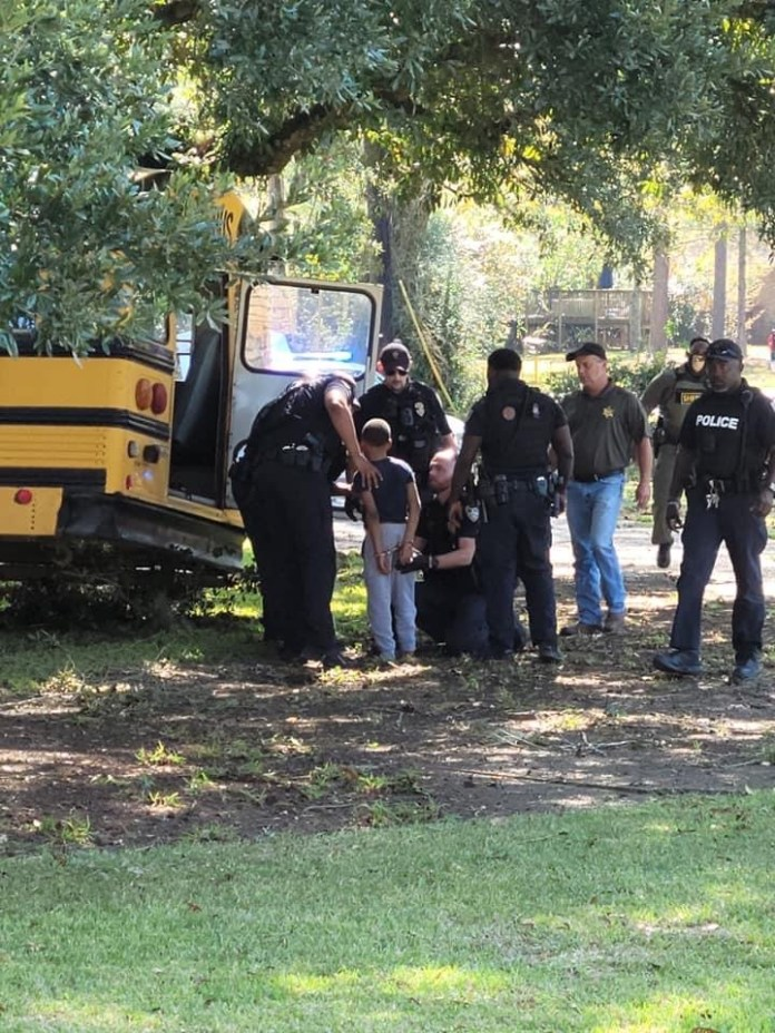 Video Of 11 Year Old Boy Who Stole School Bus And Crashes It During Chase By Police In US