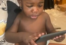 Video Of A Baby Singing Davido's FEM And Chooses The Song Over Nursery Rhymes