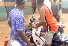 Video Of Angry Protesters Burning Nnewi Police Station And Releases Impounded Motorcycles