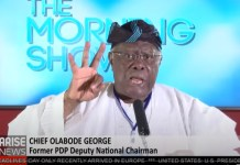 Video Of Bode George Saying Seyi Tinubu Controls All The Signage For Lagos State